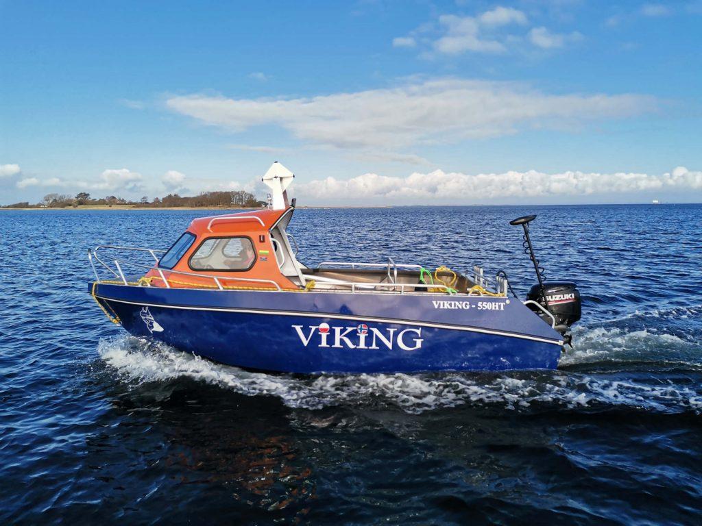 Motorbåd til fisketure
