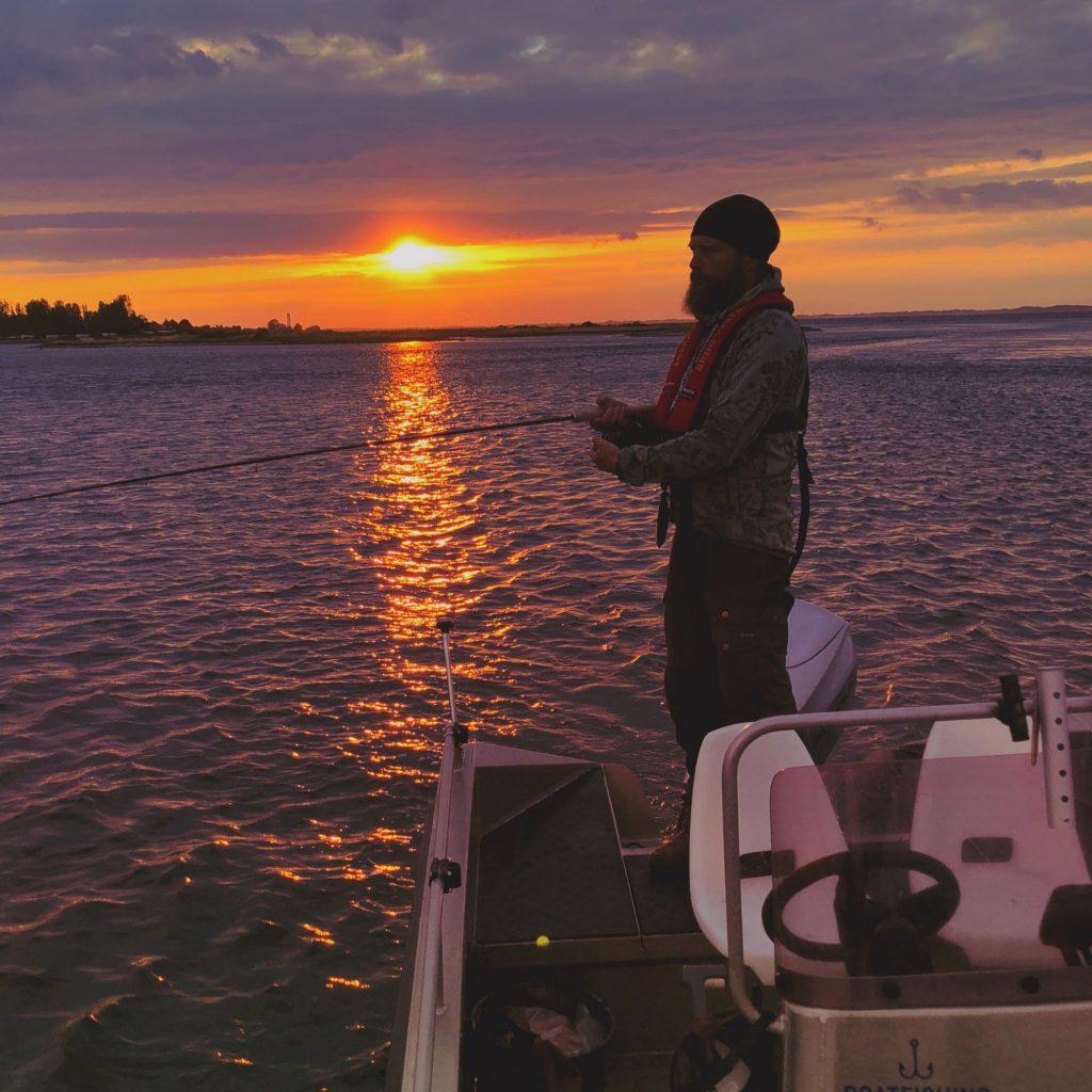 Fisketur fra båd