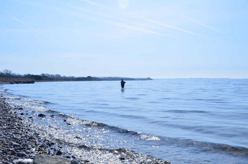 Lystfisker på Langeland