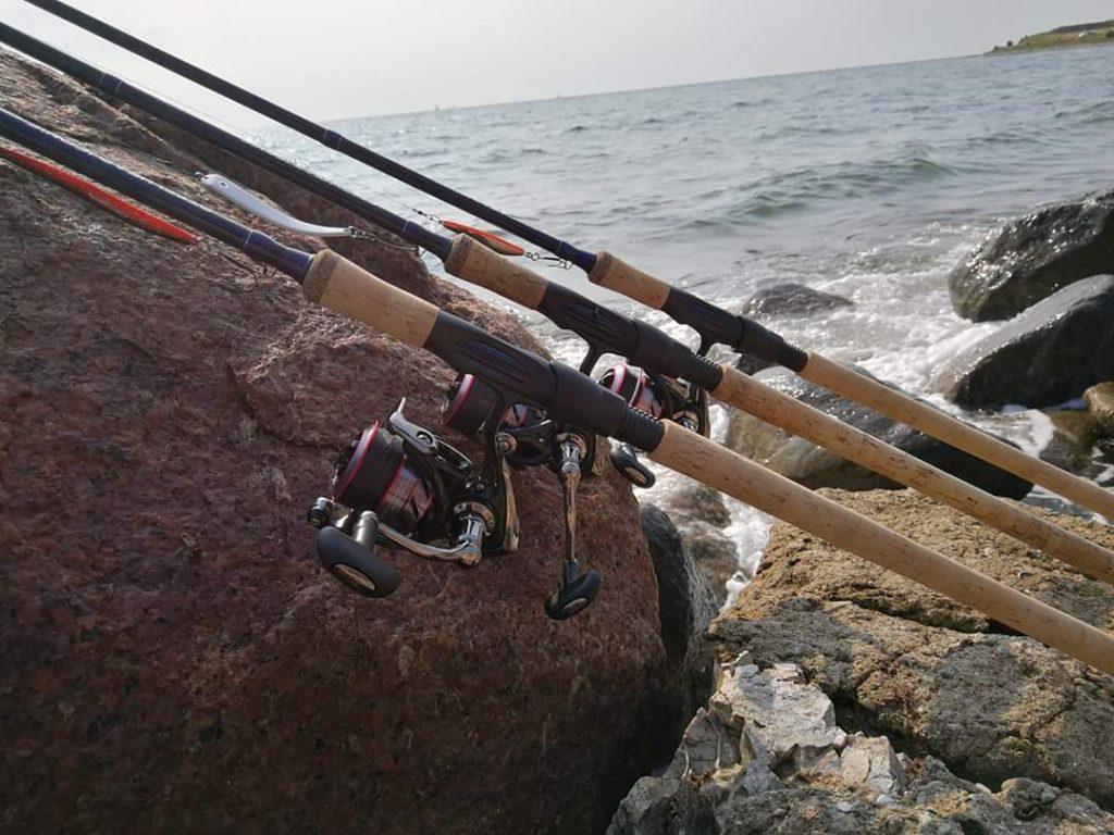 Leje af fiskestænger på Ærø