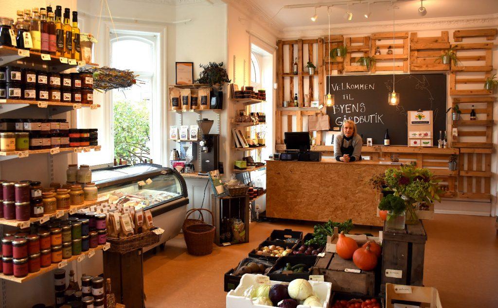 Byens Gårdbutik i Svendborg