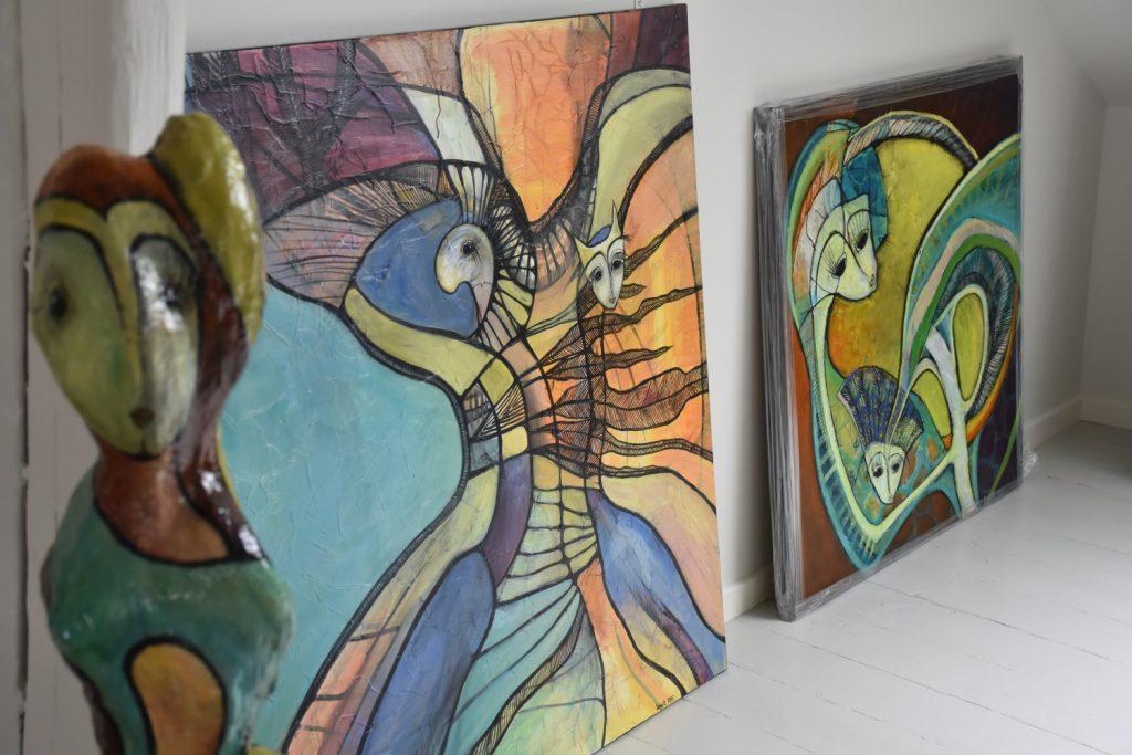 Atelier Lorentz skulptur og maleri