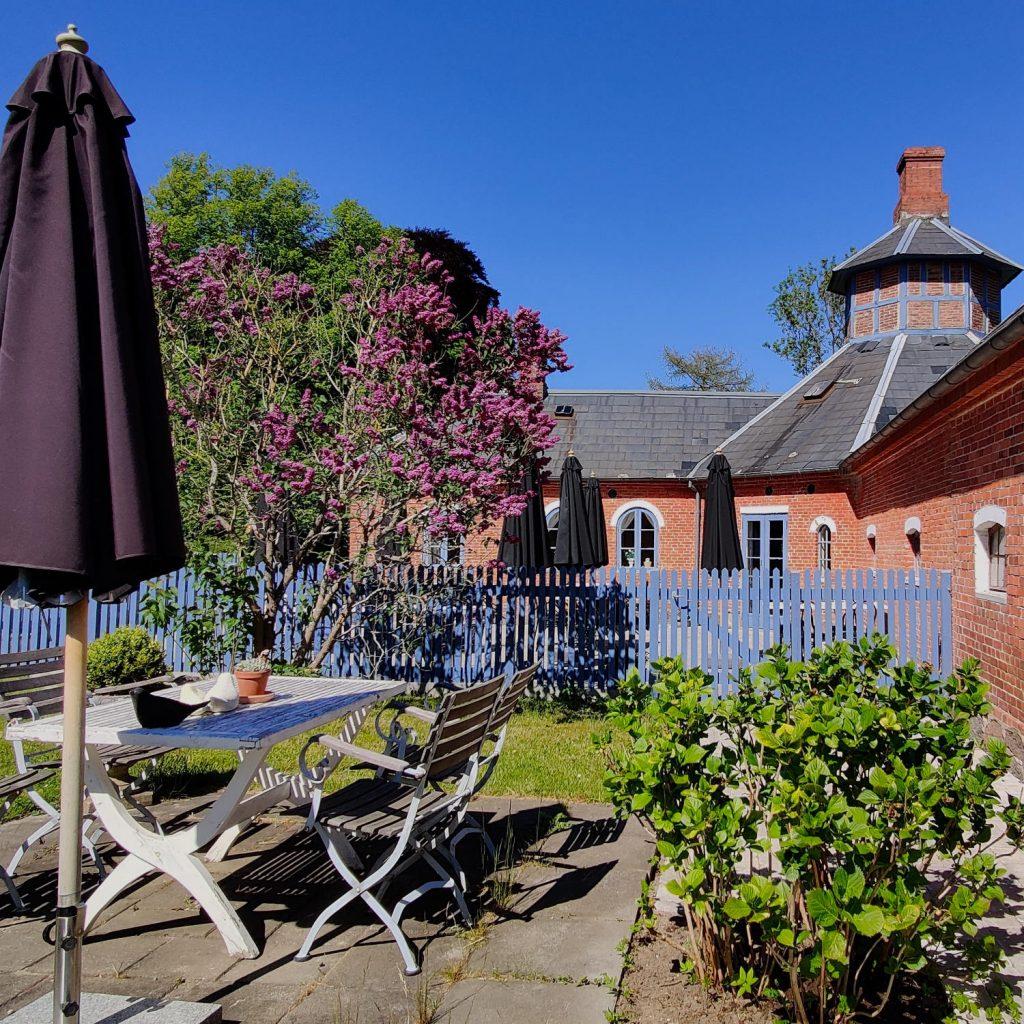 Cafe Orangeriet på Langeland