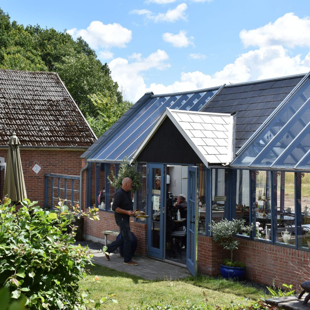 Cafeen ved Medicinhaverne på Langeland