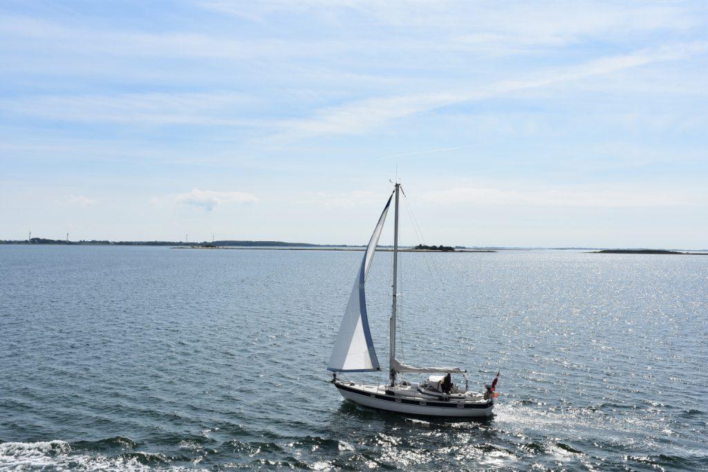 Fra færgen til Ærø