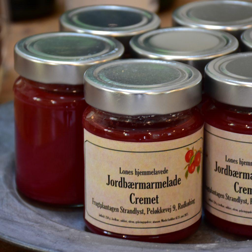 Marmelade fra Strandlyst Frugtplantage på Langeland