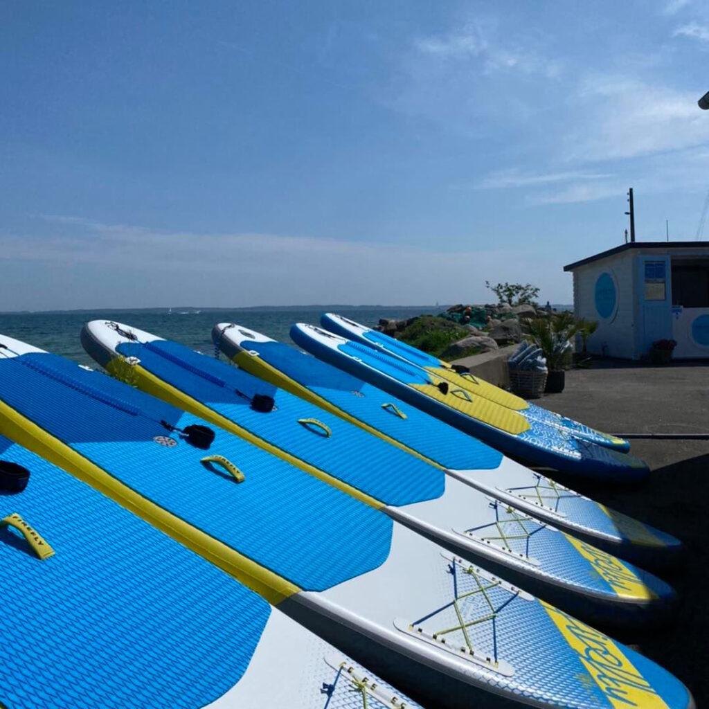 Paddleboards i Lundeborg