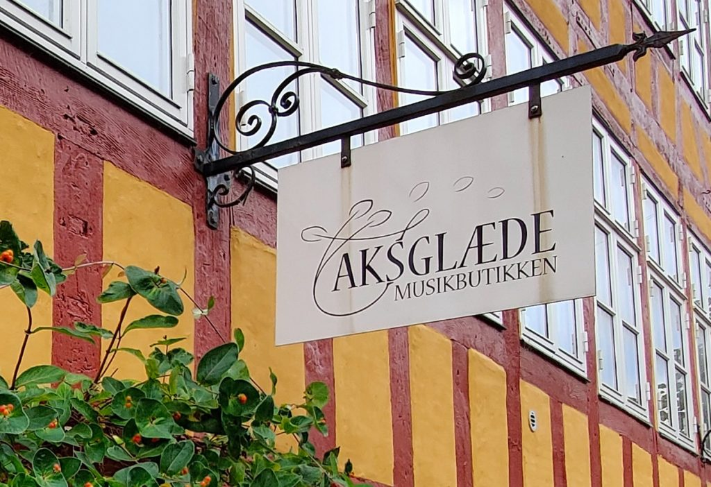 Aksglæde Musikbutik