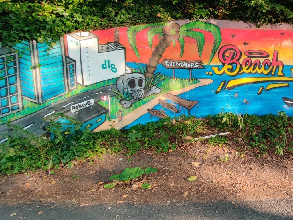 Grafitti ved Christiansmindestien