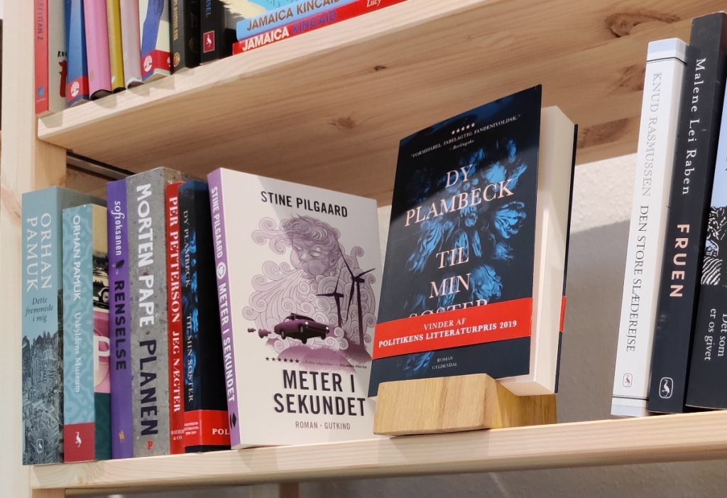Gode bøger i Litteraturhuset Svendborg