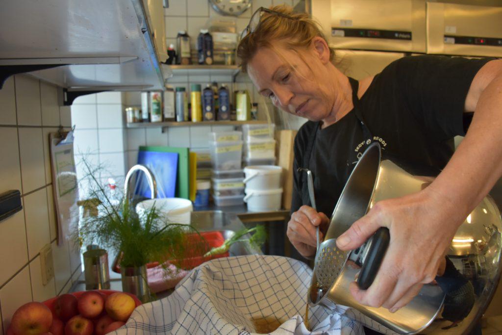 Sally Lundgren på Skovsgaard