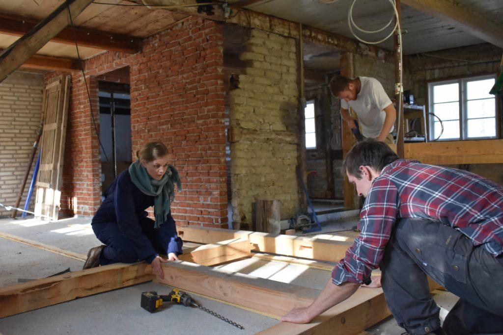 Berit og Niels bygger bæredygtigt