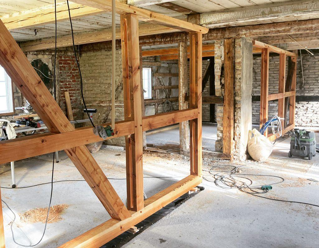 Bindingsværk i bæredygtigt byggeri