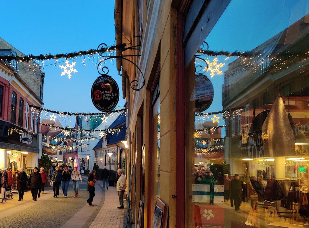 Hyggelig juleshopping i Rudkøbing