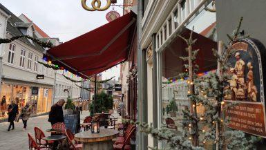 Jul i Møllergade i Svendborg