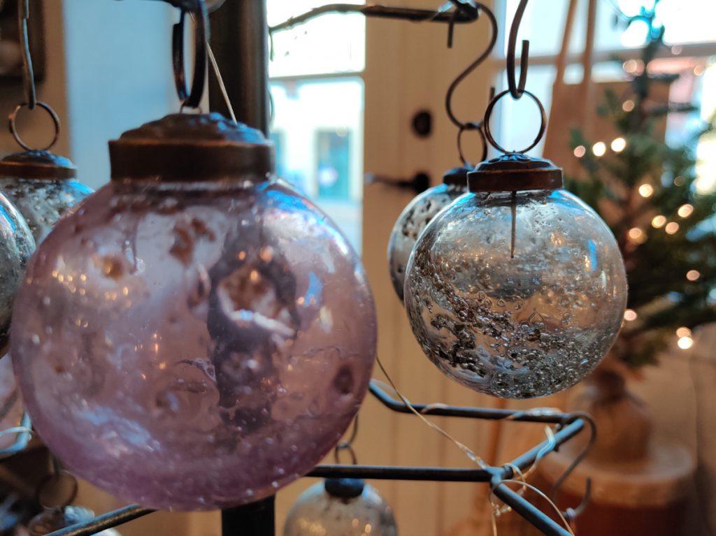 Julekugler i Rudkøbing
