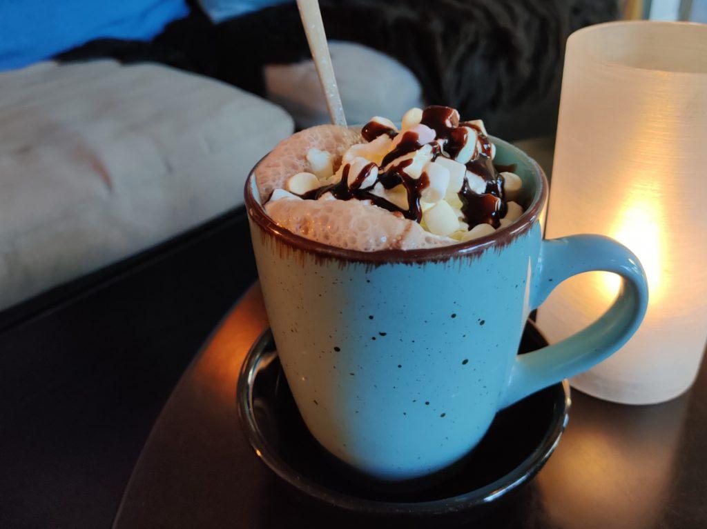 Varm kakao på bobs