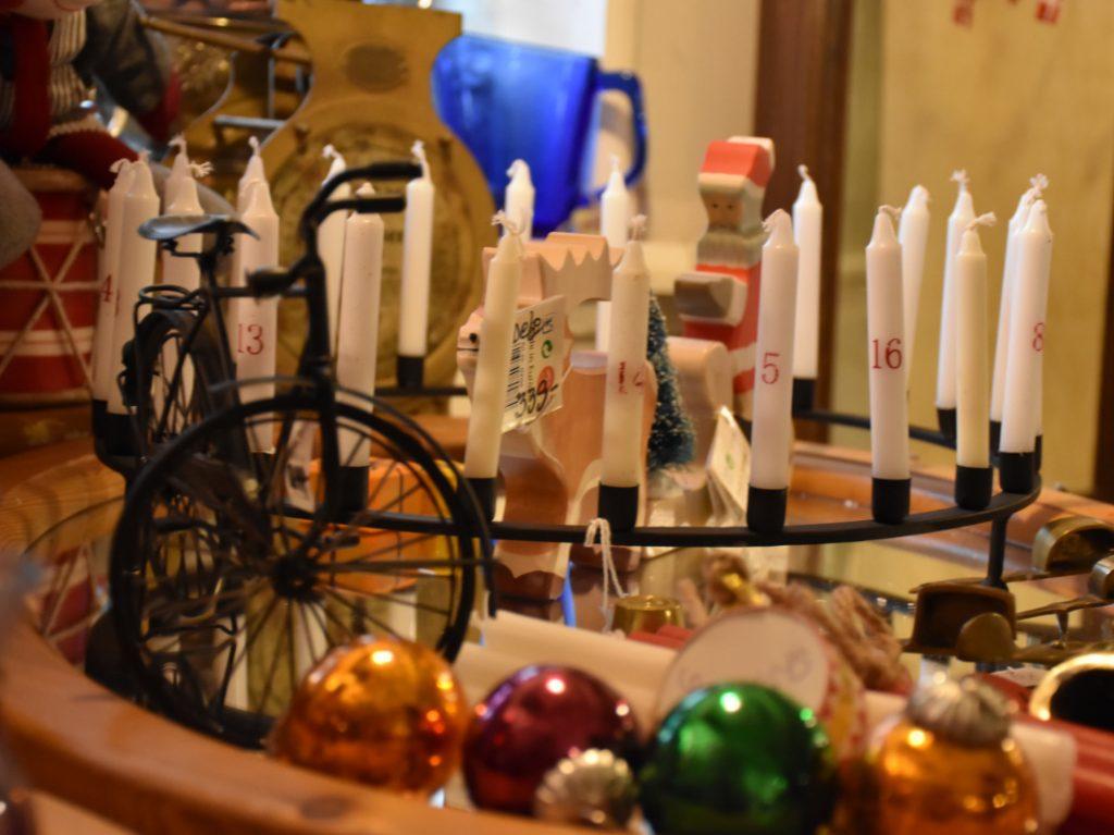 Julepynt hos Blandede Bolcher