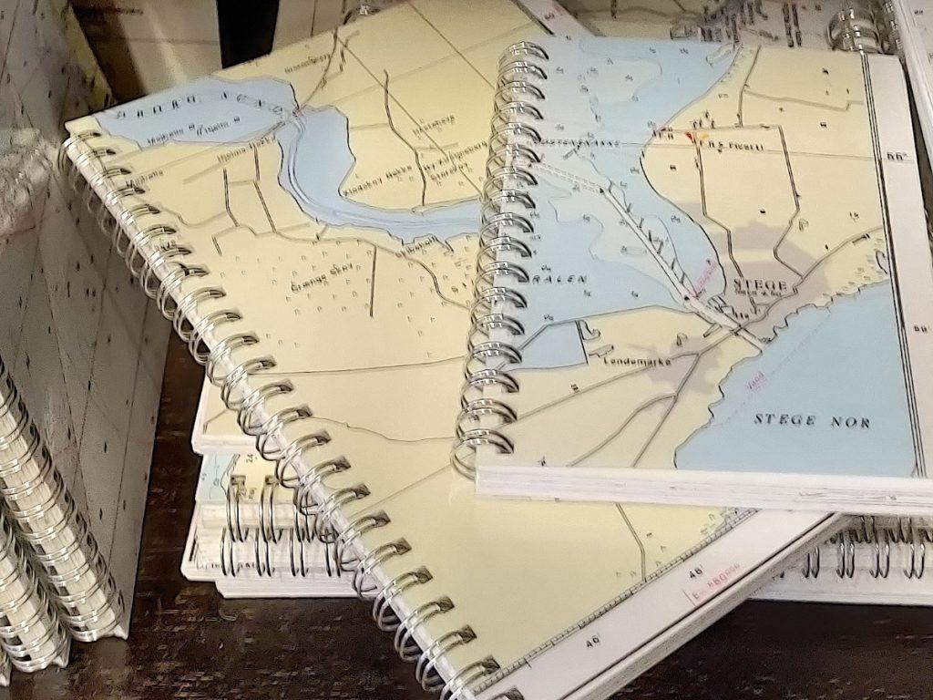 Notesbøger med søkort