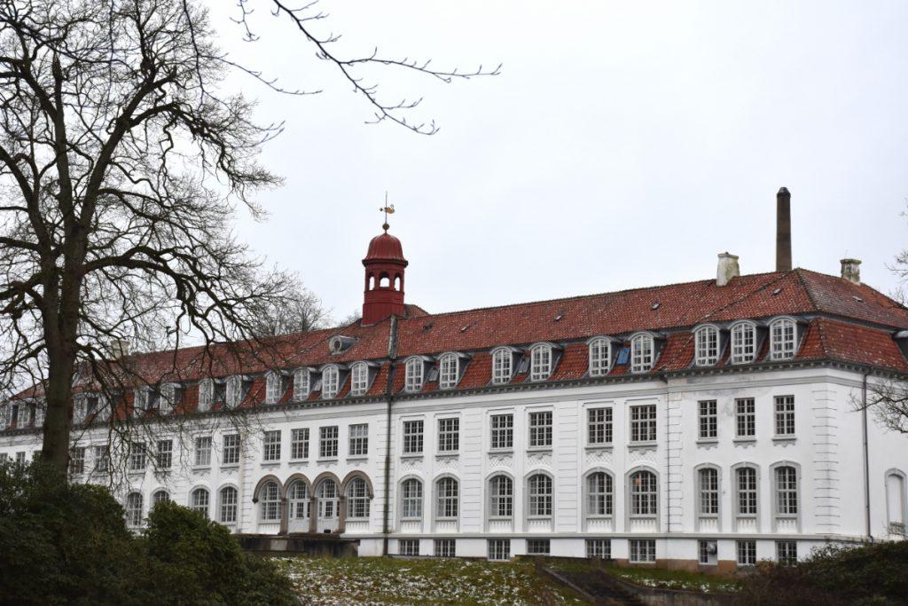 Nakkebølle Sanatorium fra bagsiden