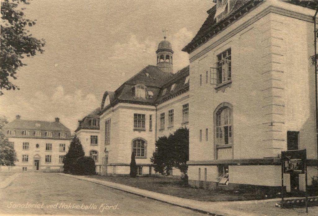 Forladt bygning Nakkebølle Sanatorium