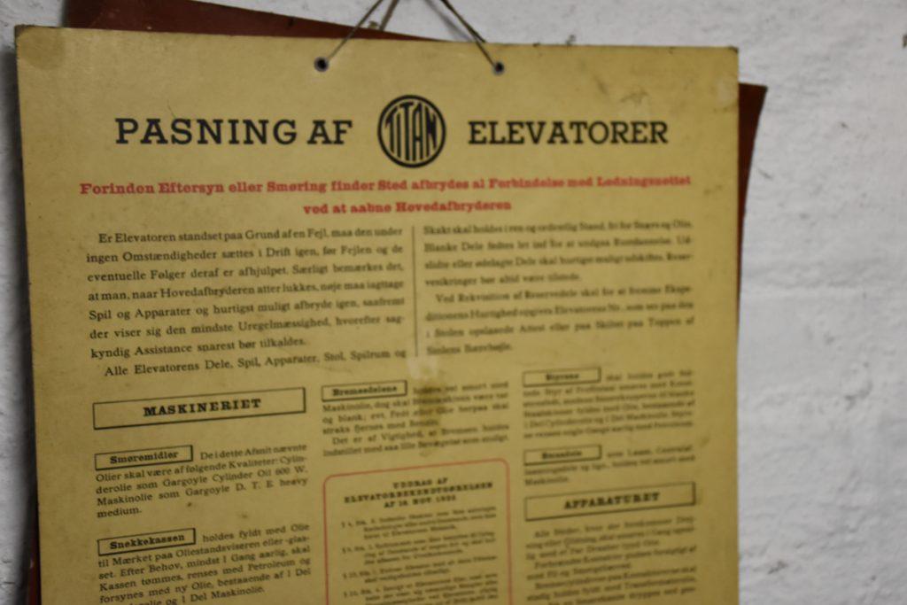 Forladte steder elevator