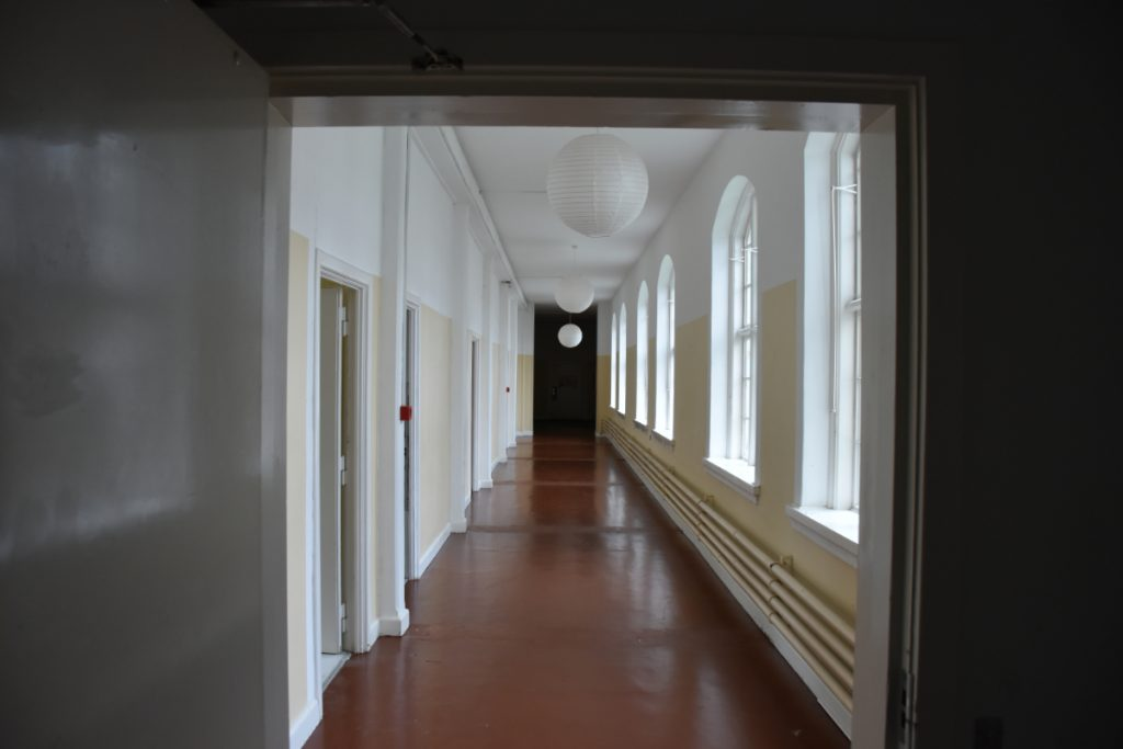 Sygegang på Nakkebølle Sanatorium