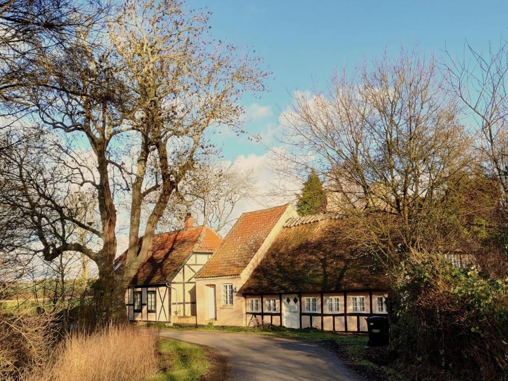 Pederskov huse på Tåsinge