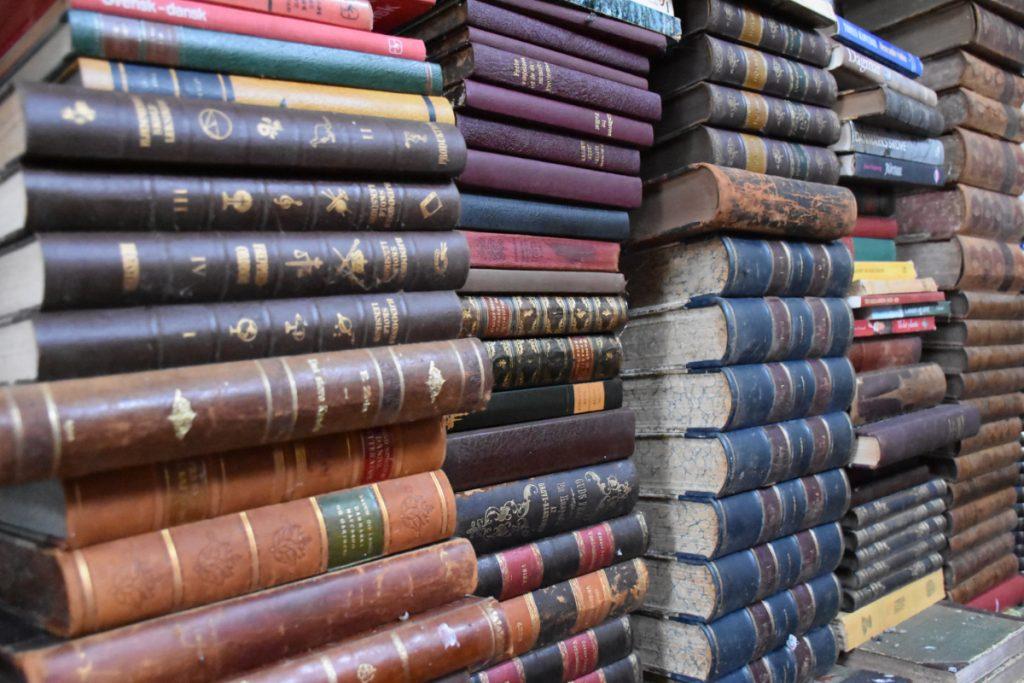 Antikvariske bøger på Sydfyn