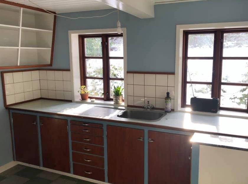 Køkken på Aserbo