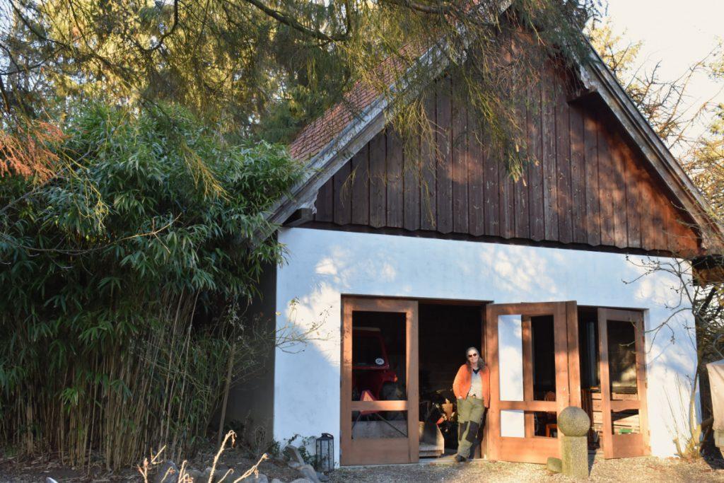 Traktorhuset på Aserbo