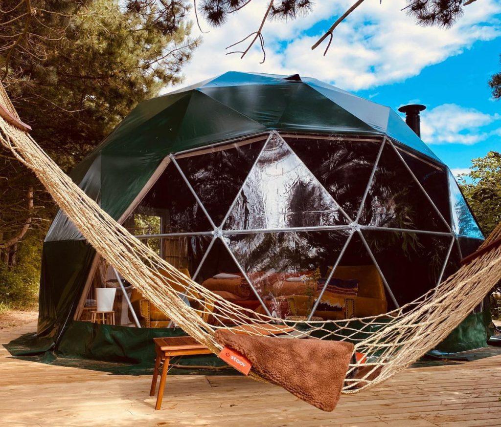 Tiki Camp Dome