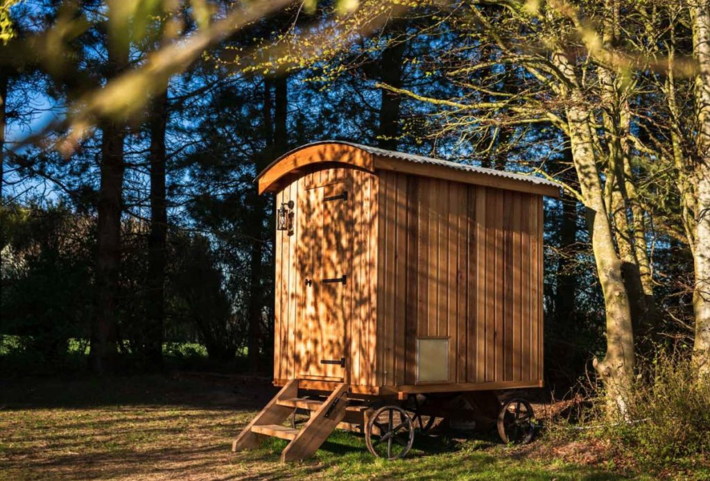 Toiletvogn på Tiki Camp