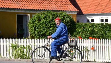 På cykel i Marstal