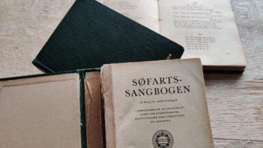 Sangbøger på Kogtved Søfartsskole